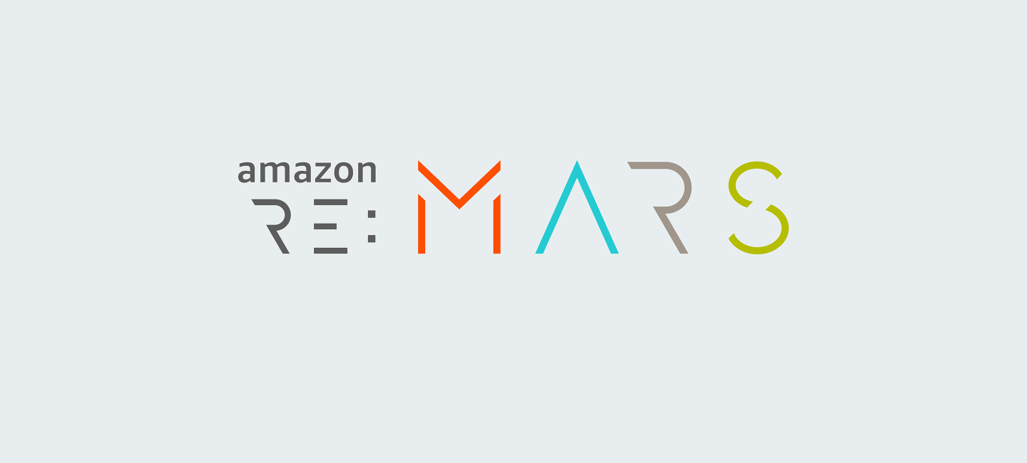 Amazon re:MARS logo