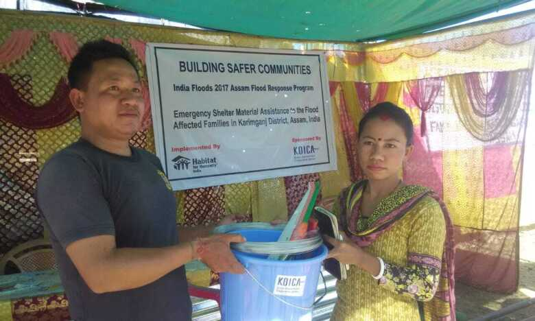 NGOs help North East flood relief by handing over necessary items