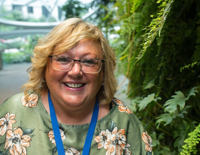 Catherine Wintle, fulfilment centre buyer at Amazon in Swansea pictured in the Amazon Spheres in Seattle