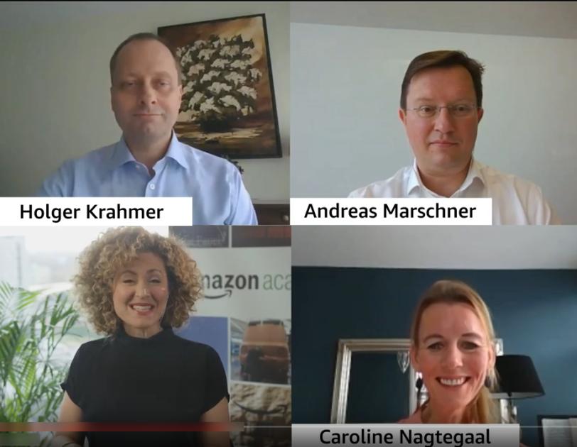 Amazon Academy virtual panel
