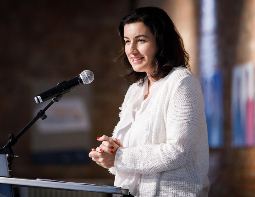 Dorothee Bär bei der digital.engagiert Preisverleihung.