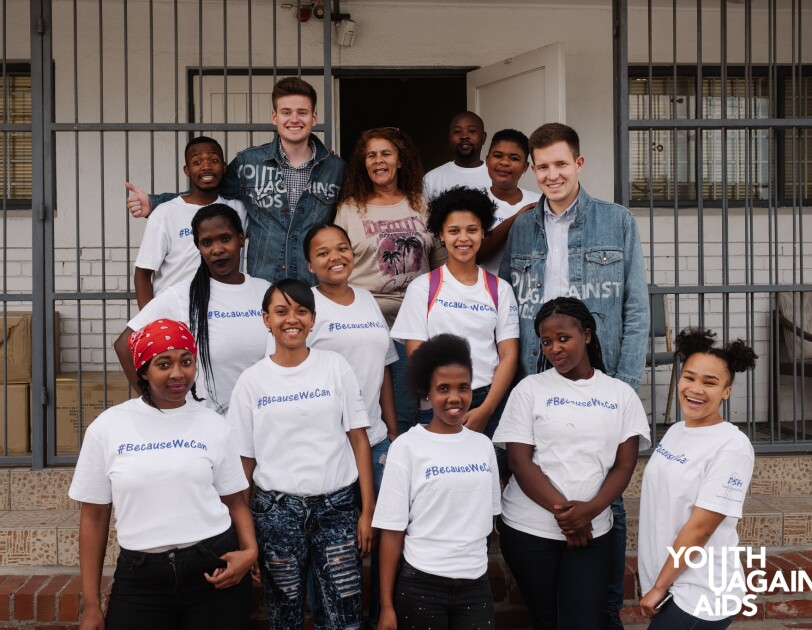 Jugend gegen Aids in Südafrika.