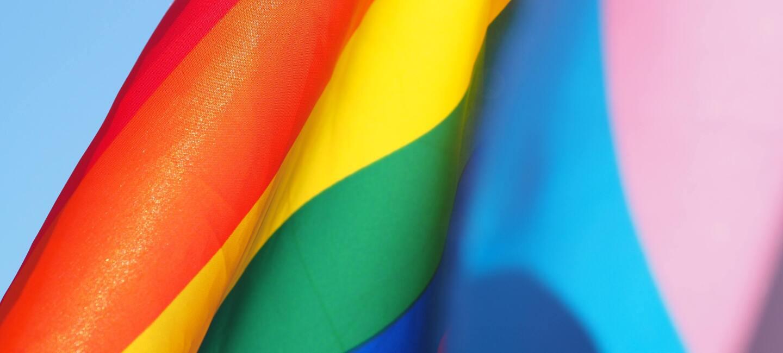 Pride month flag