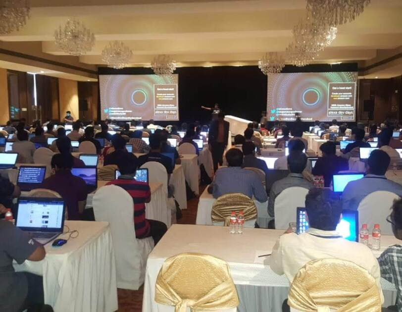 Alexa Developer event in India