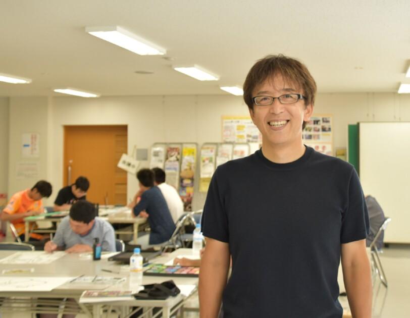 教諭・waC制作責任者 松本進さん