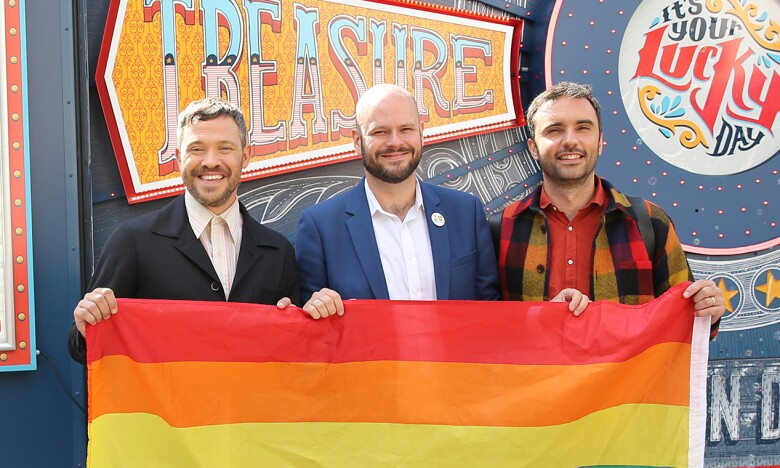 LGBT+ reading roadshow - Will & Chris