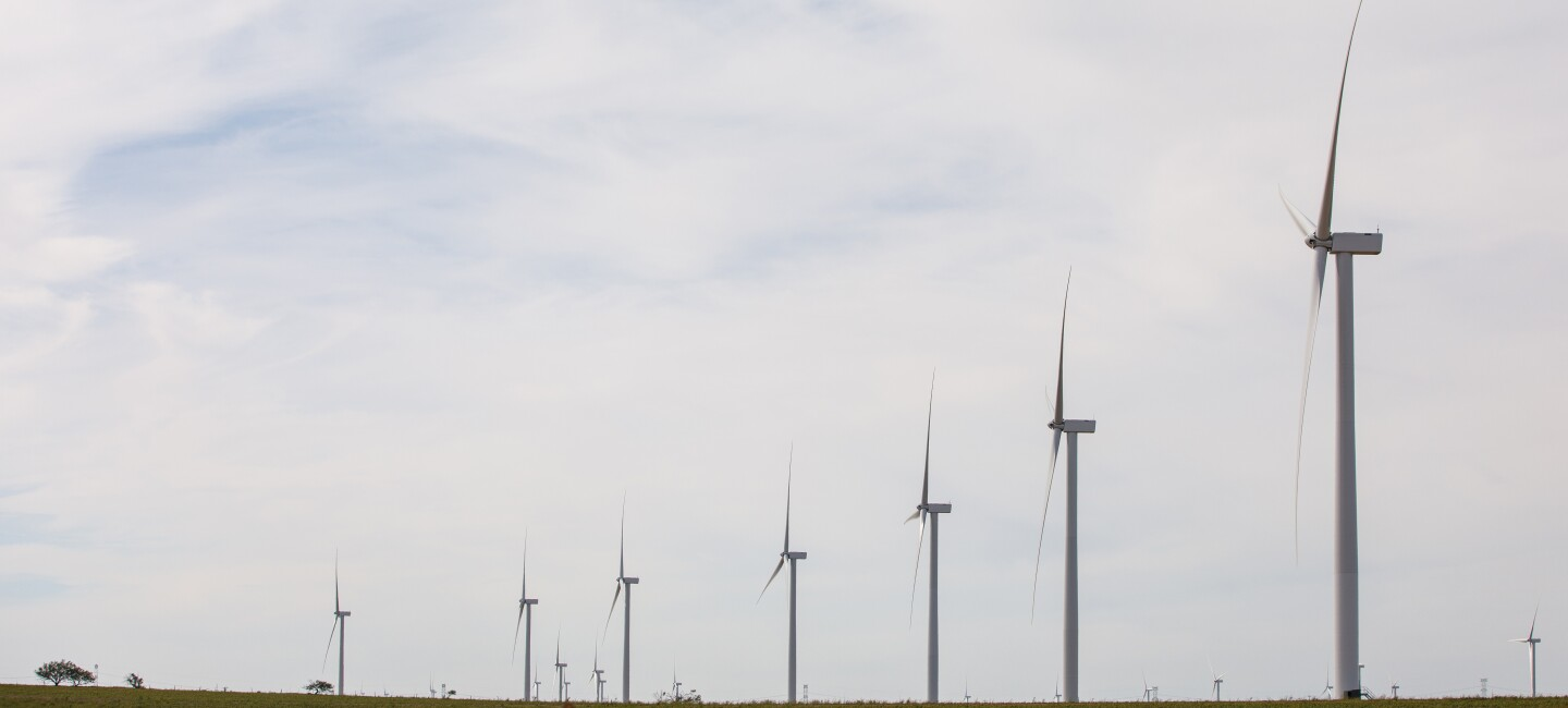 Amazon Wind Farm Texas Launch