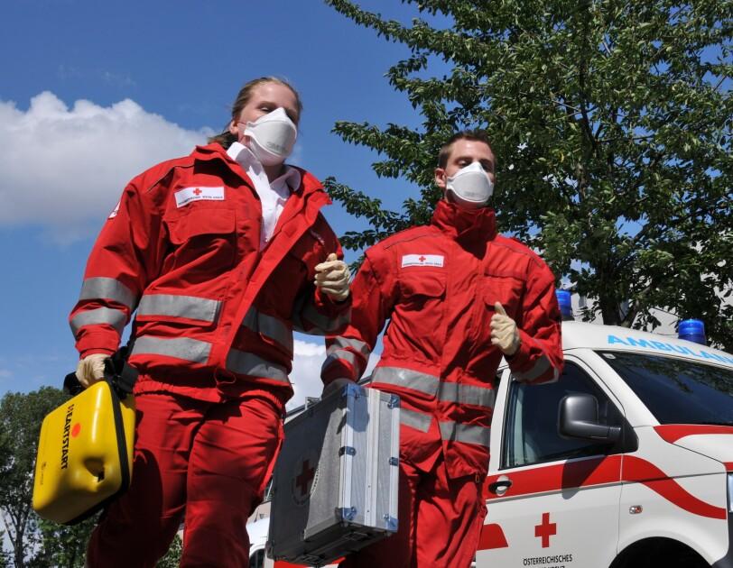 Österreichisches Rotes Kreuz im Einsatz gegen das Coronavirus