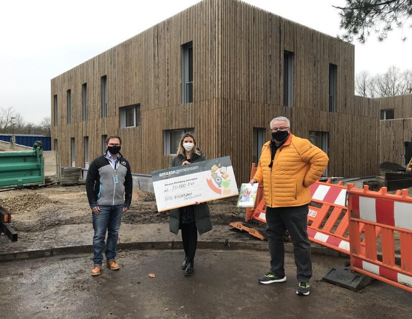 SOS Kinderdorf Düsseldorf Baustelle