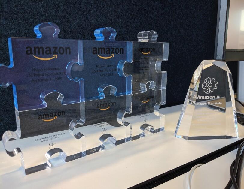 Glasbausteine für Amazon Innovationen