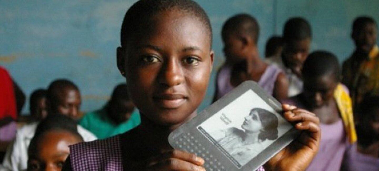 Kindle für Kinder in Afrika – eine neue Art zu lernen
