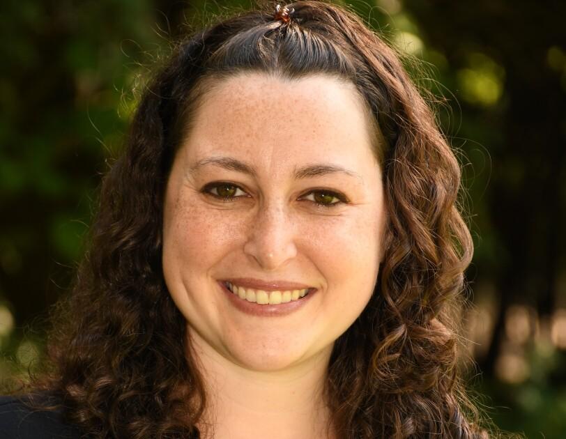 "A photo of Debbie Grashin, Amazon Future Engineer ""Teacher of the Year"" award recipient and teacher at KIPP Columbus High."