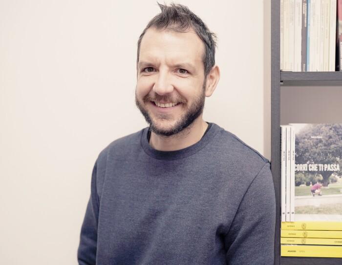 Federico Mancin, autore di Corri che ti passa