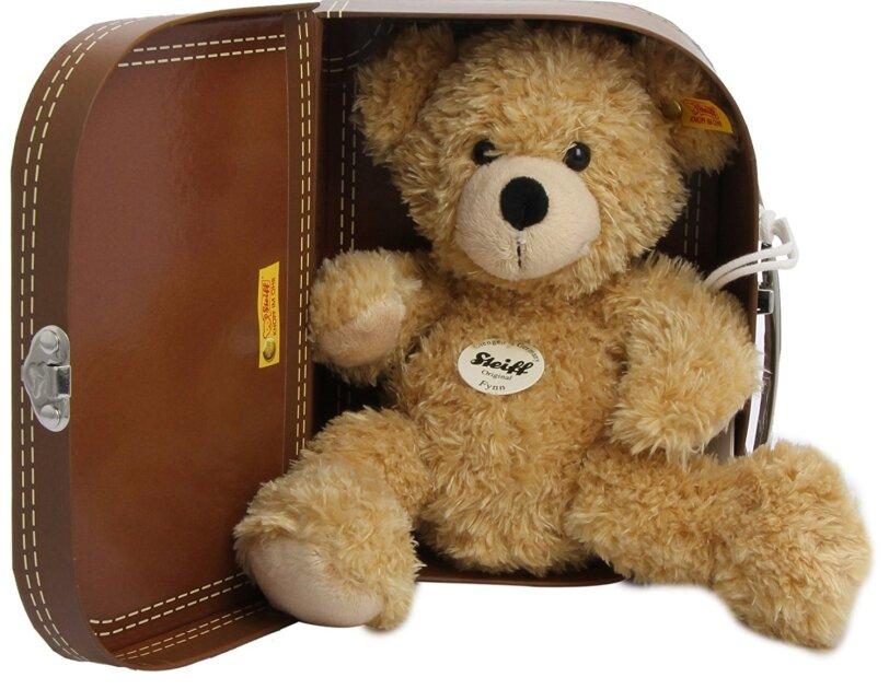 Abbildung des Teddybärs Flynn von Steiff, erhältlich auf Amazon.de.