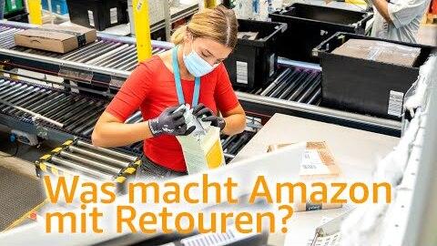 Was macht Amazon mit Retouren?