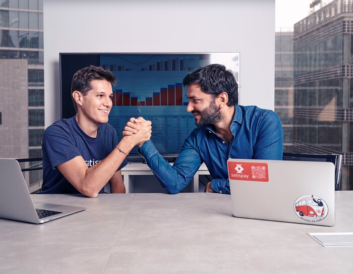 Alberto Dalmasso, appassionato di alpinismo e imprenditoria, con due amici ha messo a punto un'app innovativa che gestisce i pagamenti tramite telefono.