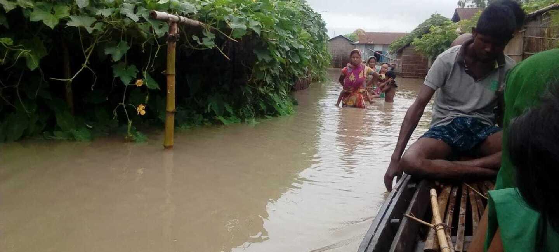 Floods in Bihar and Assam