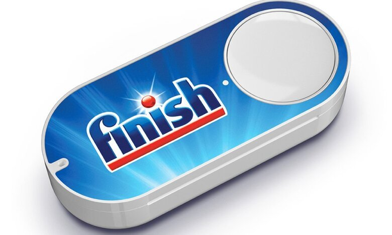 The most popular Dash Button in the UK is for dishwasher detergent