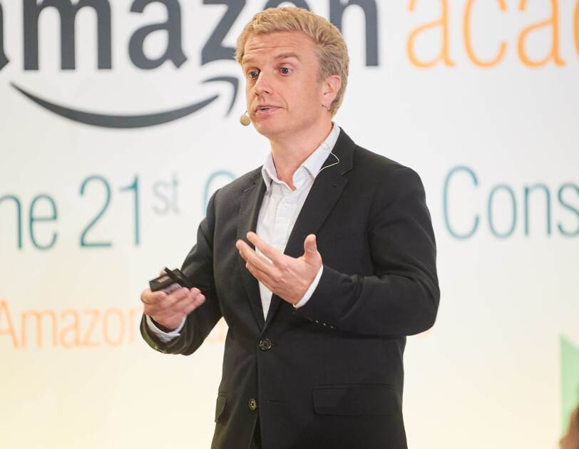 Malcom Pinkerton at Amazon Academy