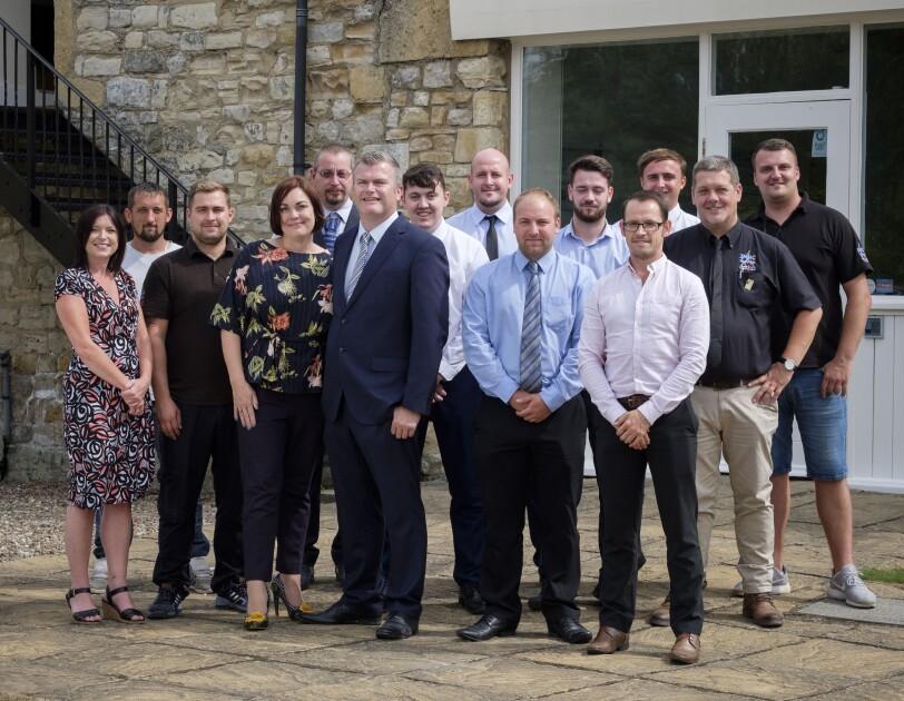 JHMC team: Yorkshire logistics business finds route to success