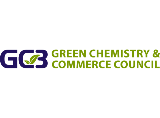 Logo of GC3: Green Chemistry & Commerce Council, an Amazon Sustainability partner
