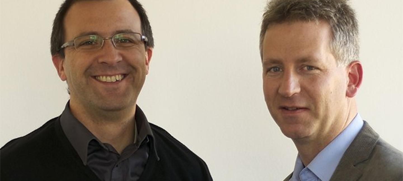 Portrait des deux fondateurs de Linxo
