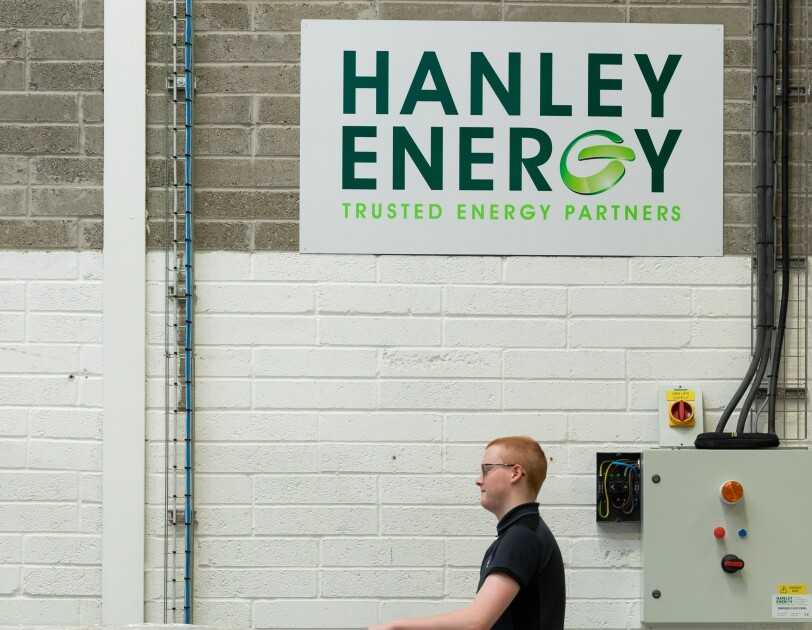Photos of Hanley Energy employees at work