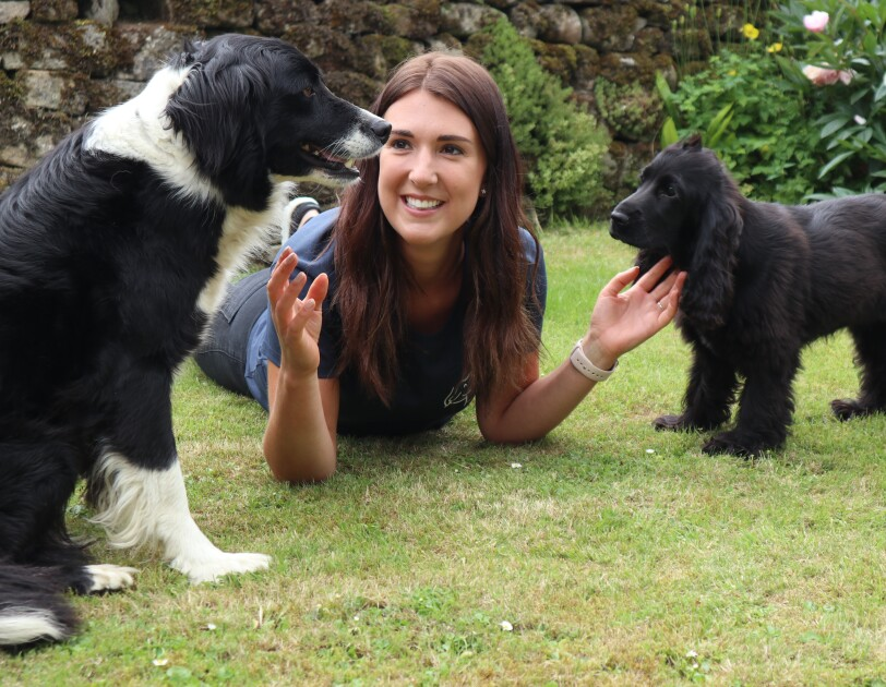 Kate Bolland, Founder - Moment to Paws - 2021