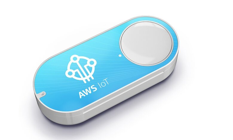 A programmer-friendly version of the Dash Button, the AWS IoT button, was developed by Amazon Web Services and can be programmed to perform a number of tasks like making calls, working as a remote control or even ordering pizza.