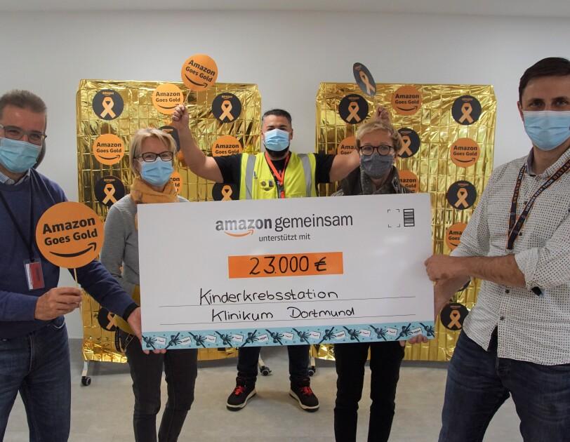 Spendenübergabe Dortmund