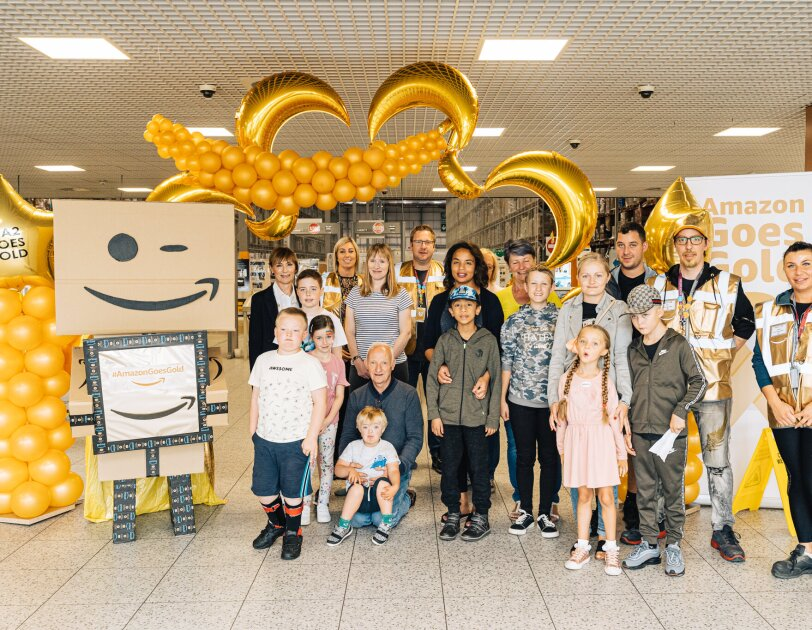 Amazon Goes Gold campaign in Doncaster