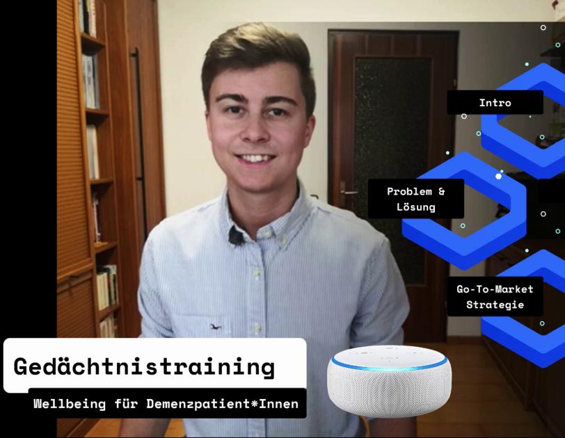Michael Macher, der Gewinner der Alexa Skill Challenge