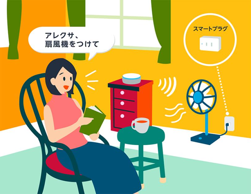 「アレクサ、扇風機をつけて!」Alexaでプチ・スマートホーム:夏の熱中症対策編