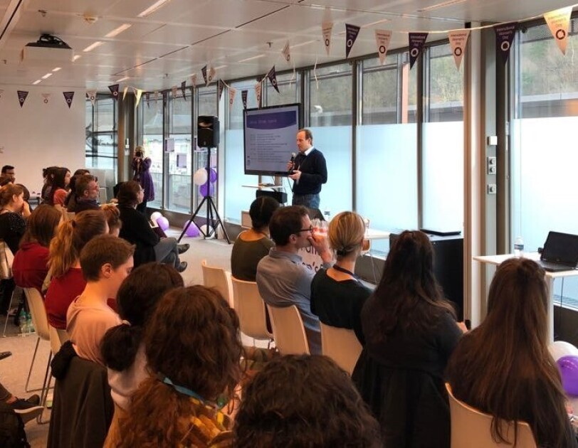 Amazon IWD lecture at our European HQ in Luxembourg