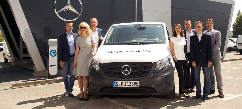 2018 Daimler Kooperation Transportation eVito