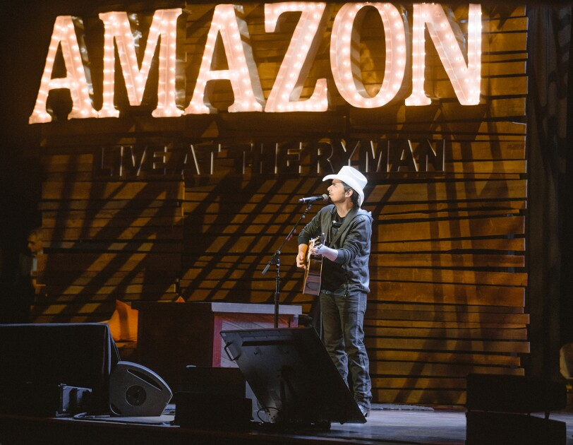 Amazon at the Ryman in Nashville, TN