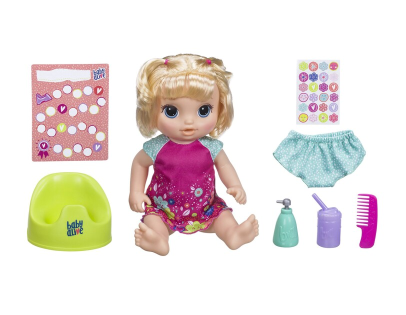 c8418e9f2b5 Interactive Baby Alive doll that speaks