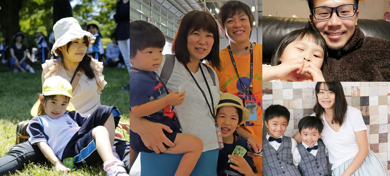 子育てを互いに支えるAmazonの社風 社員たちの家族写真