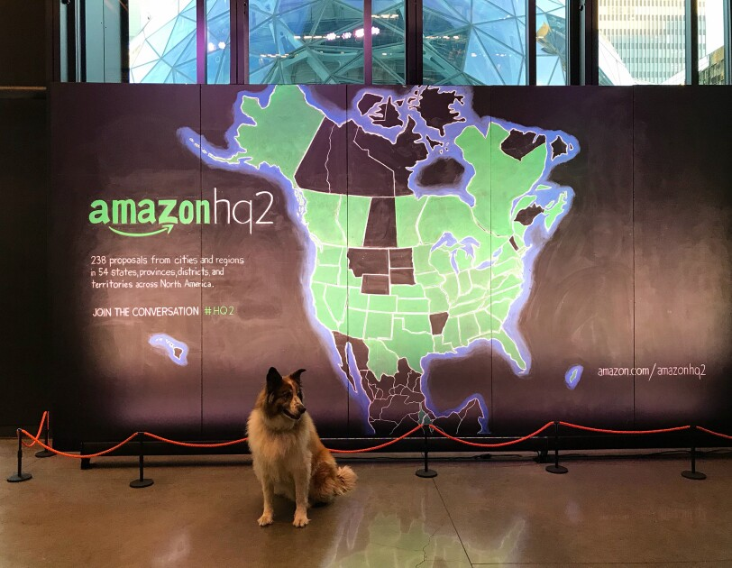 Dogs of Amazon - Bronx at map