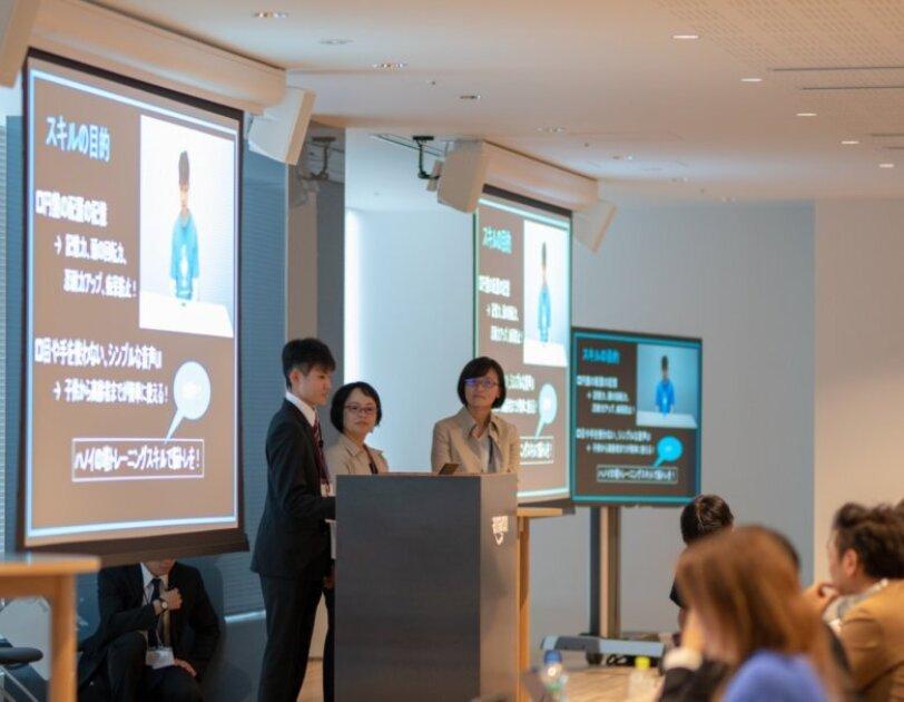 Alexaスキルアワード2018でプレゼンを行う杉崎信清さん
