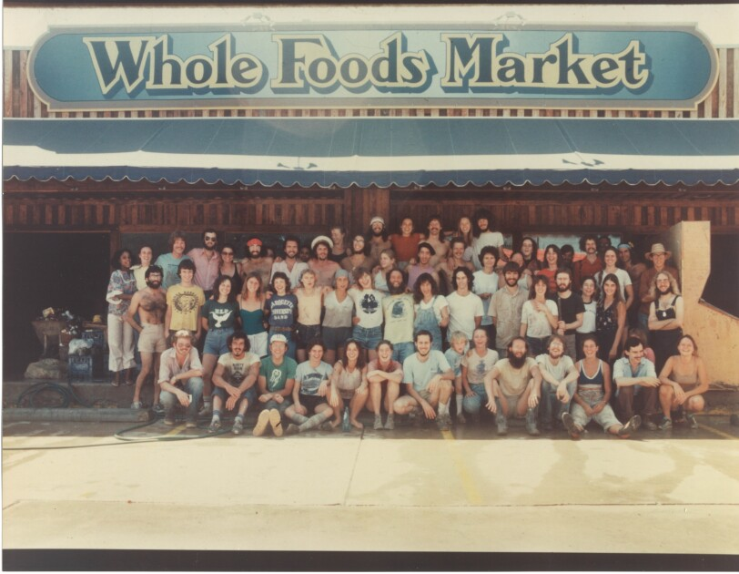 An image of the first Whole Foods Market store.