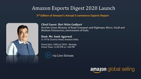 Launch of Amazon Exports Digest 2020
