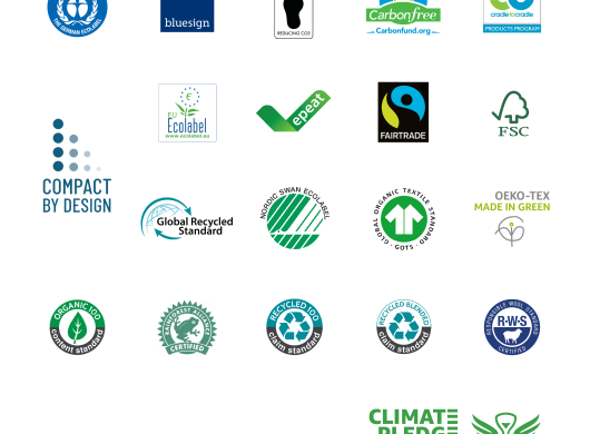 Elenco delle certificazioni che classificano un prodotto in vendita su Amazon.it come Climate Pledge Friendly