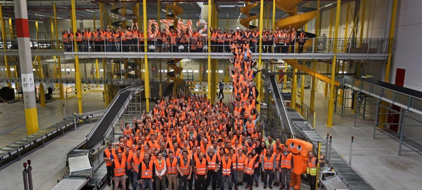 Amazon employees in Germany