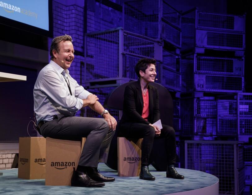 Ralf Kleber und Dunja Hayali eröffnen die Amazon Academy 2017