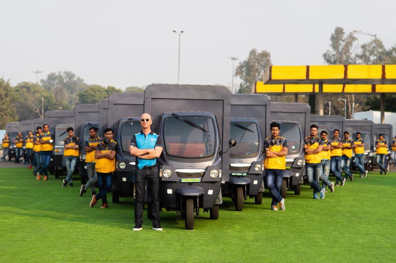 Electric Vehicle Amazon India