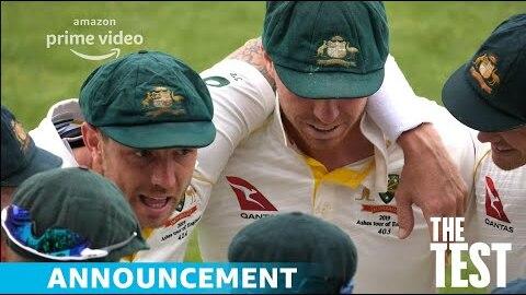 The Test: A New Era for Australia's Team  | Official Announcement | Amazon Original