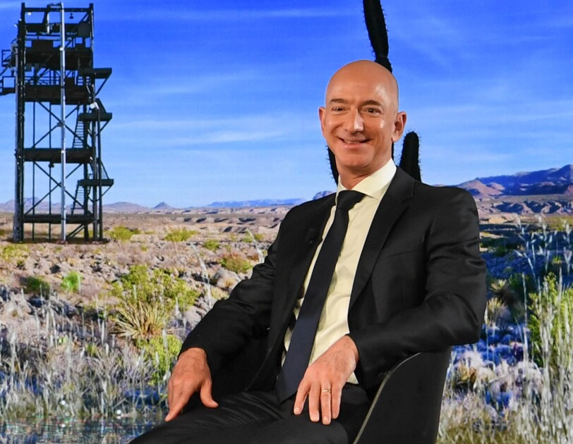 Jeff Bezos erhält den Axel Springer Award für Innovation