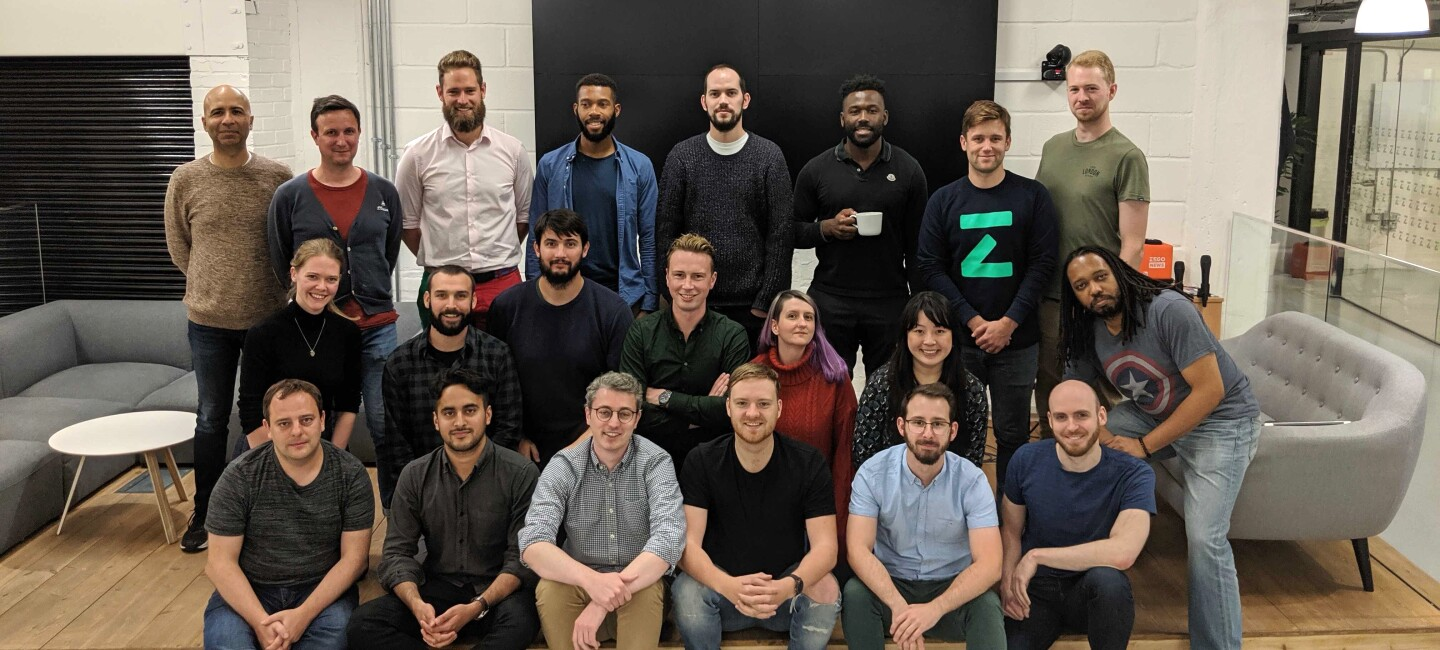 Group photo of the team at Zego offices