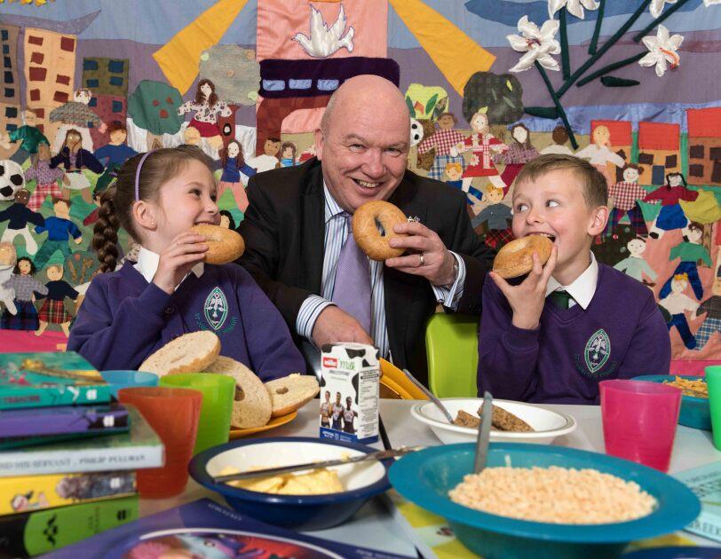 Gordon MacDonald MSP, Magic Breakfast